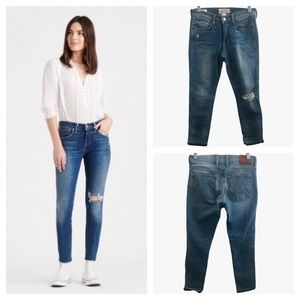 LUCKY BRAND Charlotte Rail Ankle Jeans Size 26
